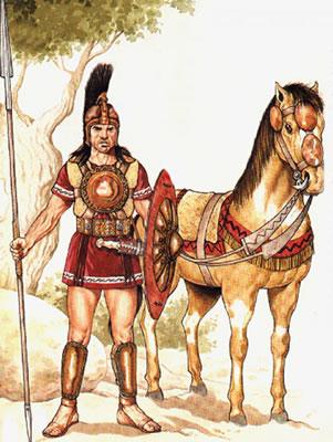 El guerrero íbero