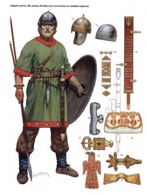 El guerrero godo