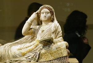 Exposición de arte estrusco en Barcelona